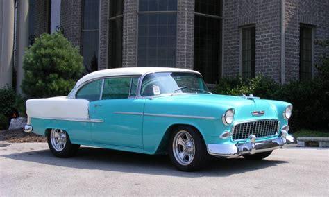 bel air custom turquoise white 1955 chevy bel air 2 door hardtop