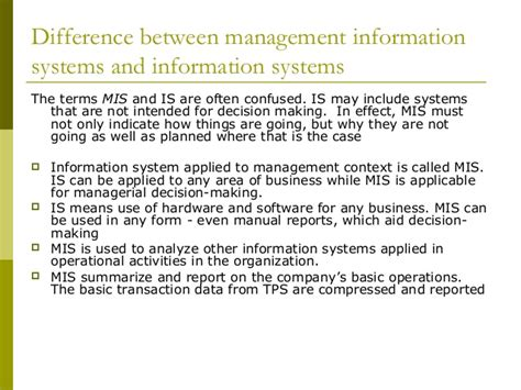 design is the intermediary between information and management information system mis