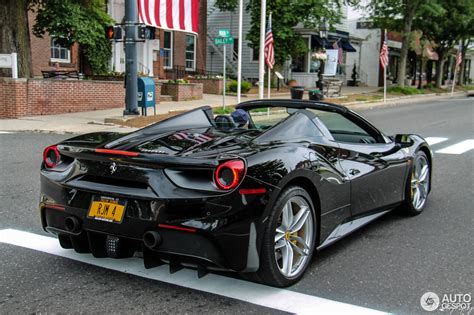ferrari 488 custom ferrari 488 spider 6 july 2016 autogespot