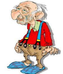 imagenes comicas de viejitos gifs animados divertidos de abuelos o ancianos viejitos