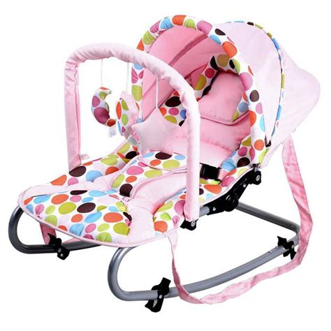 pink baby swing with canopy harmony new born baby rocker with canopy in pink buy