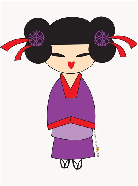 imagenes de geishas japonesas animadas el armario de lolita dibujos para camisetas de chica