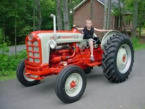1958 ford 841 powermaster antique tractor