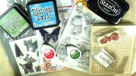 Tutorial Tintas Scrapbooking | tutorial scrapbook tipos de sellos y tintas pintura