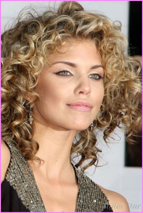short hair haircuts for curly hair short edgy curly hair cut stylesstar com