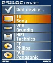 psiloc irremote full version free nokia 6680 psiloc infrared remote control software