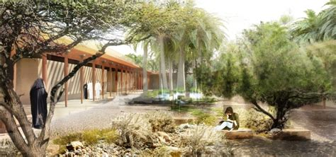 Landscape Design Qatar A N West 8 Unveils Botanic Garden In Doha Qatar