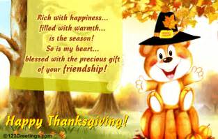 the precious gift on thanksgiving free friends ecards greeting cards 123 greetings