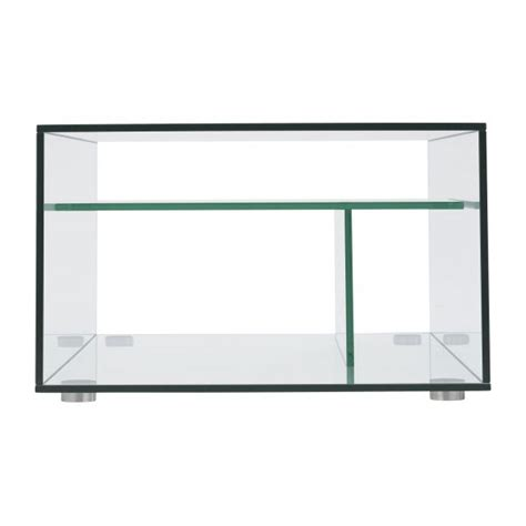 gem tables basses transparent verre m 233 tal habitat