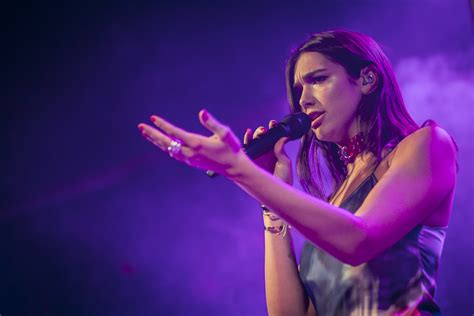dua lipa dublin images of dua lipa performing live at the academy in