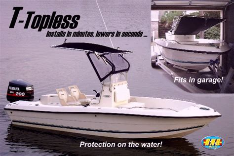 boat t top windshield t topless folding t top images from rnr marine