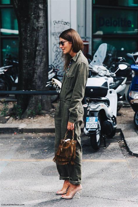 Tasya Jumpsuit mfw milan fashion week spring summer 2016 street style say