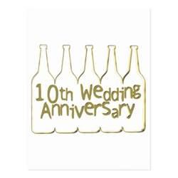 10th wedding anniversary gifts zazzle