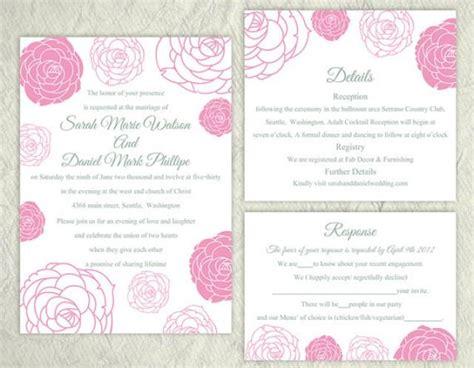 printable wedding invitation suite printable wedding invitation suite printable invitation