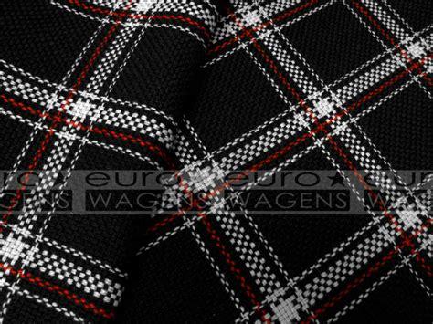Vw Gti Plaid Fabric by Seat Fabric Tartan Original Vw Golf Mk1 Gti Highest