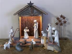 And nativity creche for sale