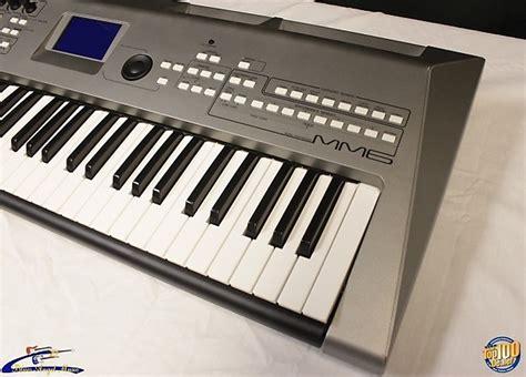 Keyboard Yamaha Mm6 yamaha mm6 synthesizer keyboard w power adapter 61 reverb