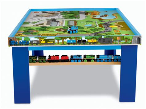 thomas the train bench fisher price thomas the train wooden railway play table ebay
