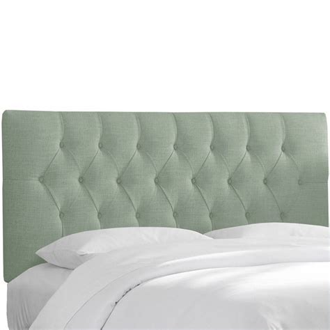 blue tufted bed skyline furniture tufted swedish blue headboard ebay