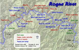 rogue river oregon map map gallery oregon river experiences