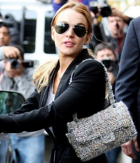 Lindsay Lohan Buys More Chanel by Chanel 2 55 Classic Flap Bag Photo 936633 Coolspotters