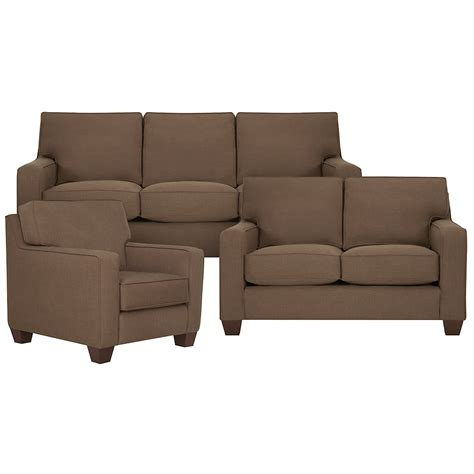 upholstery york city furniture york dk brown fabric loveseat