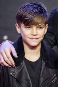 romeo haircut star wars premiere brooklyn and romeo beckham match in