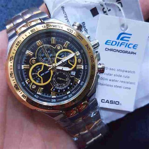 Jam Tangan Pria Ripcul Edifice Chrono Variasi jam tangan edifice chrono ef 554 kw