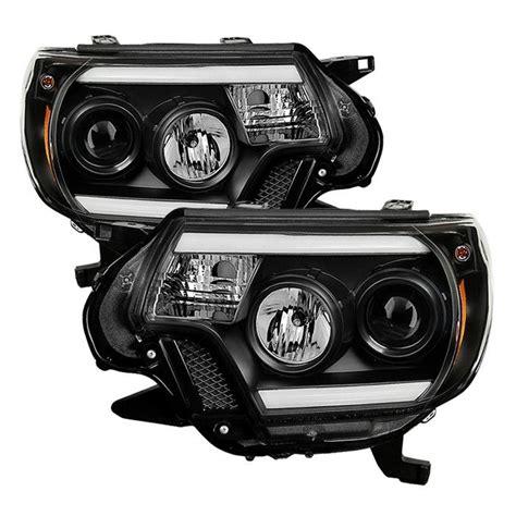 2004 toyota tacoma light bar spyder toyota tacoma 12 15 projector headlights