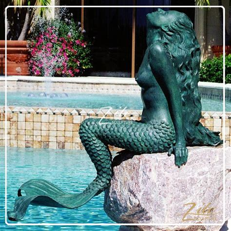 hot sale outdoor life size bronze mermaid statue fountain buy bronze mermaid statue fountain