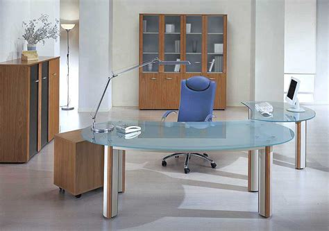 modern concept glass office furniture and glass office