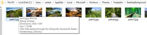 windows themes background location where windows 10 themes photos were taken