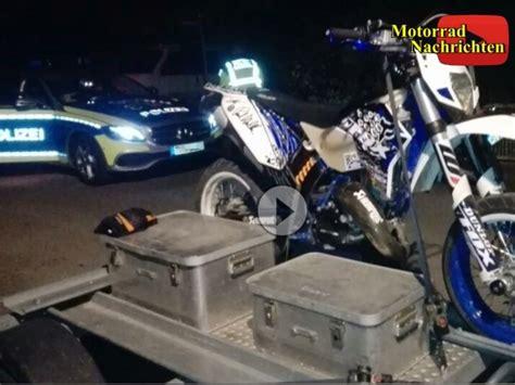 Polizei Motorrad Videos by Polizei Ermittelt Wegen Videos Wurde Motorrad U