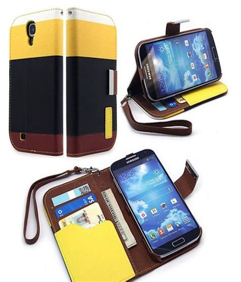 Promo Nilkin Stylish Leather Samsung Galaxy S4 I9500 Free Hd Sc rka leather flip designer stripe wallet cover for samsung galaxy s4 i9500 black flip