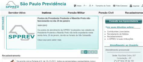 spprev demonstrativo de pagamento inativo demonstrativo de pagamento spprev www spprev sp gov br