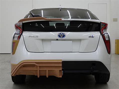Design Your Kit Home toyota prius teased again with wald s sport line kit image