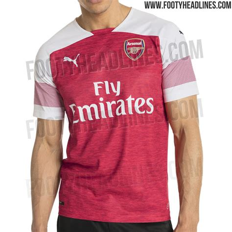arsenal new kit arsenal 2018 19 puma home shirt brand new pictures leaked