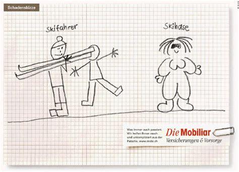 Versicherung Von Motorrad Auf Auto by Foto Mobiliar Skizze 4 Jpg Vom Artikel Schadenskizzen