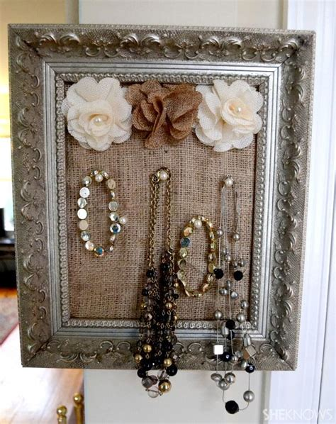 how to make jewelry holder 15 awesome diy jewelry holders