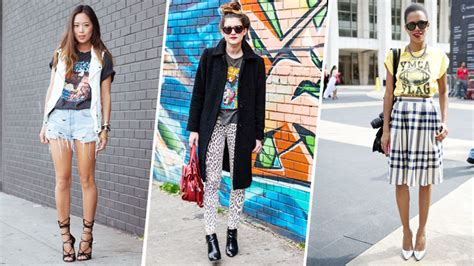 How To Wear Vintage For Vintage Industrial Style by 21 Ways To Wear Vintage Tees Stylecaster