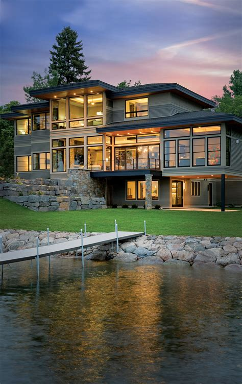 midwest living magazine idea house harbor view door county denali custom home in mound
