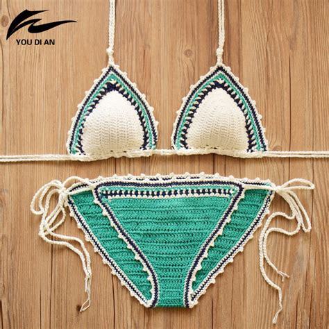 Handmade Swimsuits - handmade crochet crochet swimsuit