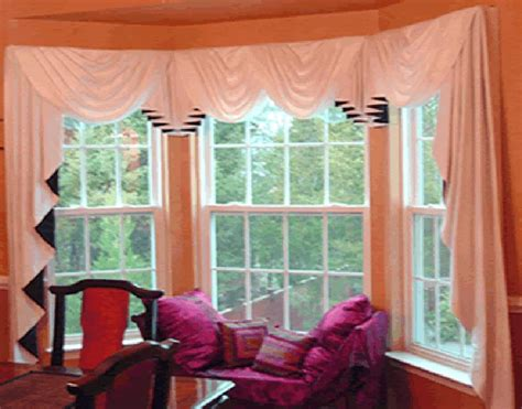 Bow Window Treatments Pictures window treatments for small bow windows picture tips
