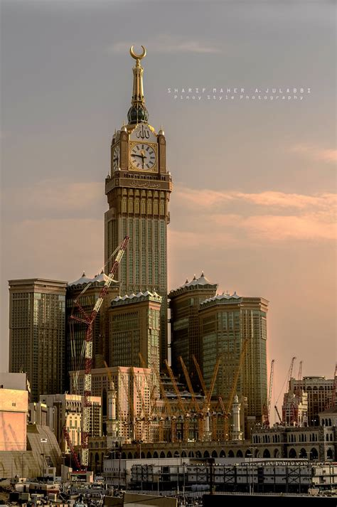 abraj al bait abraj al bait towers masjid al haram by joeblack842 on