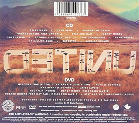 Cd Hillsong United hillsong united zion cd dvd combo deluxe edition audio cd new ebay