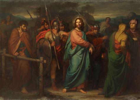 heinrich hofmann    capture  christ
