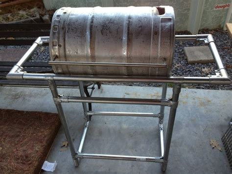 coors light chair with built in cooler how to a stainless steel grill from a common keg