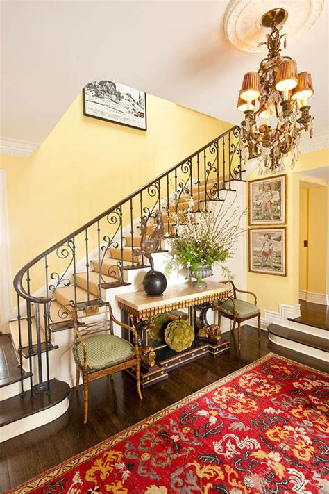 traditional decorating  sunny yellow traditional home