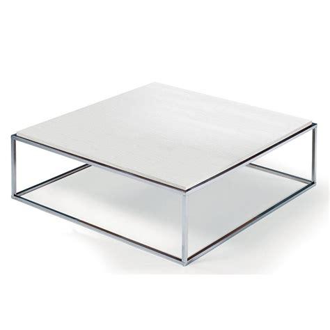 table ceruse blanc tables basses tables et chaises table basse carr 233 mimi