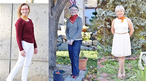 wardrobe choices for women over 60 neck scarves are an awesome fashion trend for women over 60